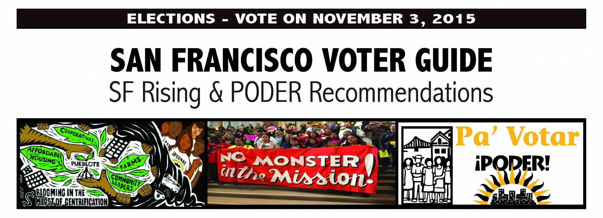 poder san francisco voter guide 2015 rh podersf org san francisco chronicle election guide 2018 san francisco chronicle voter guide