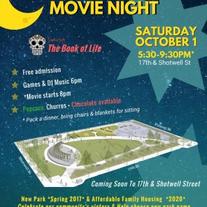 Mission Outdoors Movie Night